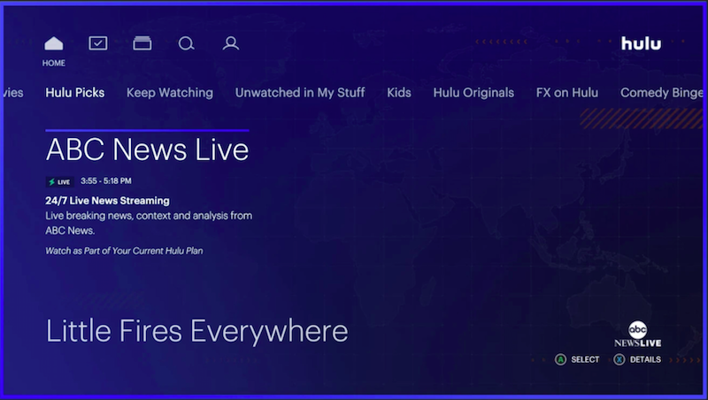 Hulu ABC News Live Team for 24/7 News Option in 2020 Abc