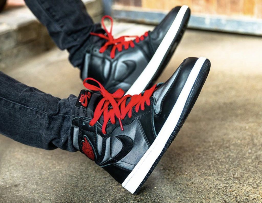 The Air Jordan 1 High Og Black Satin Are Available Now For 135 97