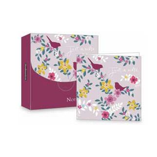 Notecards from the Woodmansterne stationery range.  The cards are blank inside for your own message, and come in packs of 8.