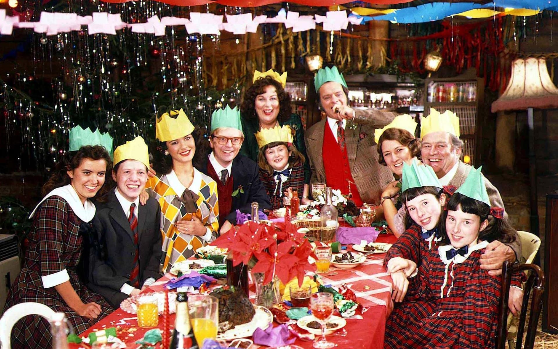 Christmas dinner through the ages Darling buds of may