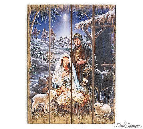 Small Christmas Story Wall Hanging
