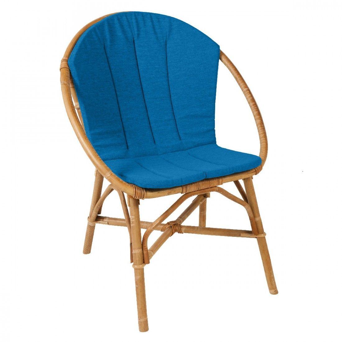 Pour Fauteuil Outdoor Chairs Rotin Salon Coussin En BrunoAu SUMzVp