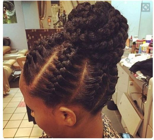 25 Examples Of Goddess Braids You Can Choose From For Your Next Style Gallery Black Hair Natural Hair Styles Braided Hairstyles Updo Braids For Black Hair