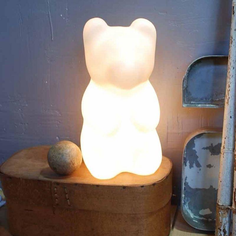 lampe jelly ours blanc egmont toys berceau magique. Black Bedroom Furniture Sets. Home Design Ideas