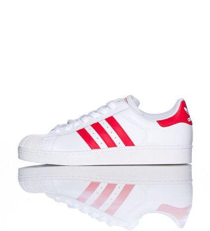 Scarpe Da Di Ginnastica Adidas Superstar Merletto Di Da Gomma Sopra Il Guscio Di Marchio 13d89d
