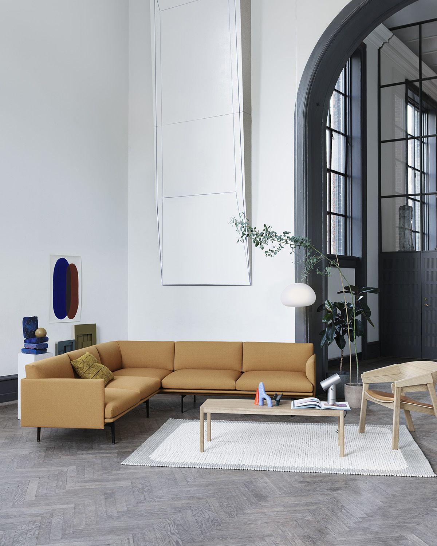 Timeless And Comfortable Scandinavian Corner Sofa Decor Inspiration From Muuto Embodyin Trendy Living Rooms Apartment Interior Design Scandinavian Sofa Design