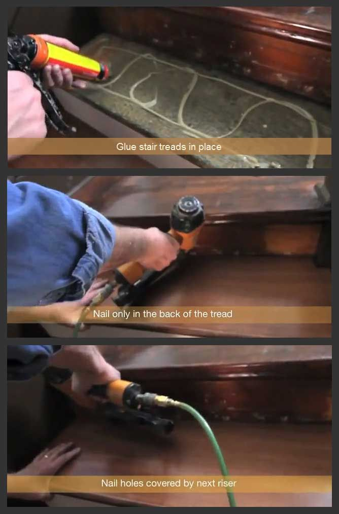 How To Install Prefinished Refinish Or Retread Stairs Nustiar | Installing Prefinished Stair Treads | Refinish Stairs | Staircase Makeover | Staircase Remodel | Landing | Hardwood