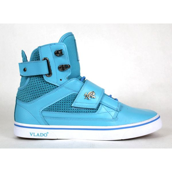 Vlado Atlas High Tops turquoise ($80) ❤ liked on Polyvore