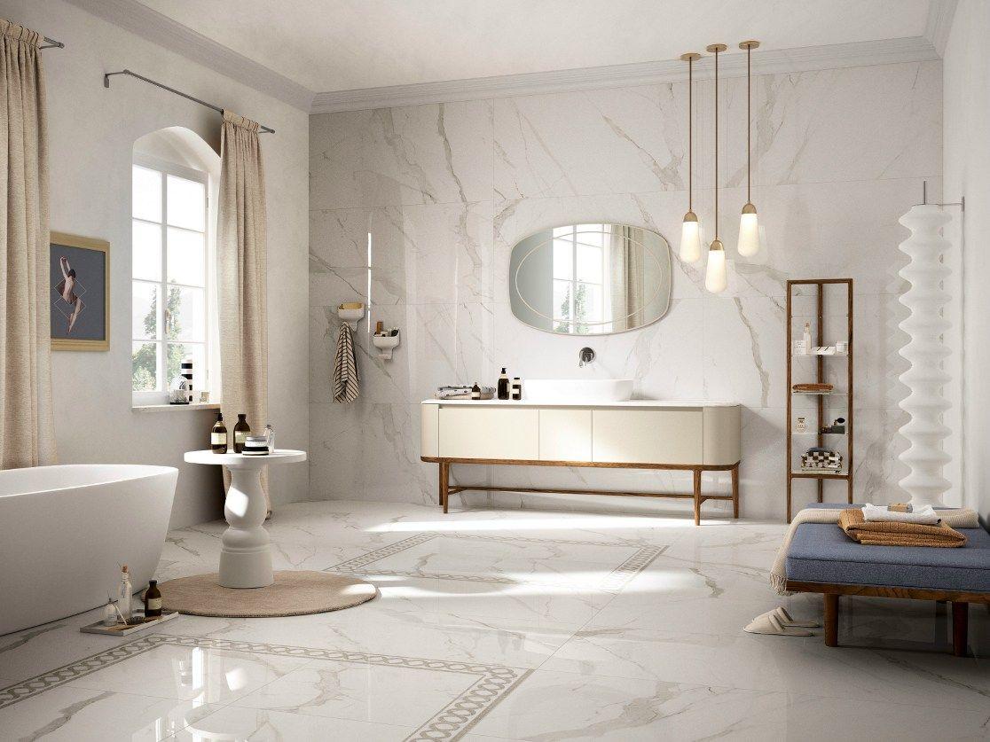 Pavimento Rivestimento In Gres Porcellanato Effetto Marmo Prestigio By Ceramiche Refin Design Del Bagno Progettazione Di Interni Bagno Interno