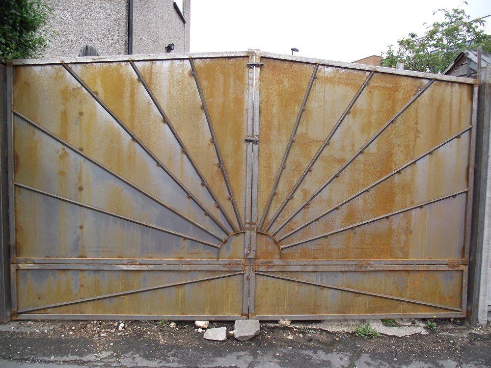 Sunray Gates Bingley Road Art Deco Pattern Architecture Poster Art Deco