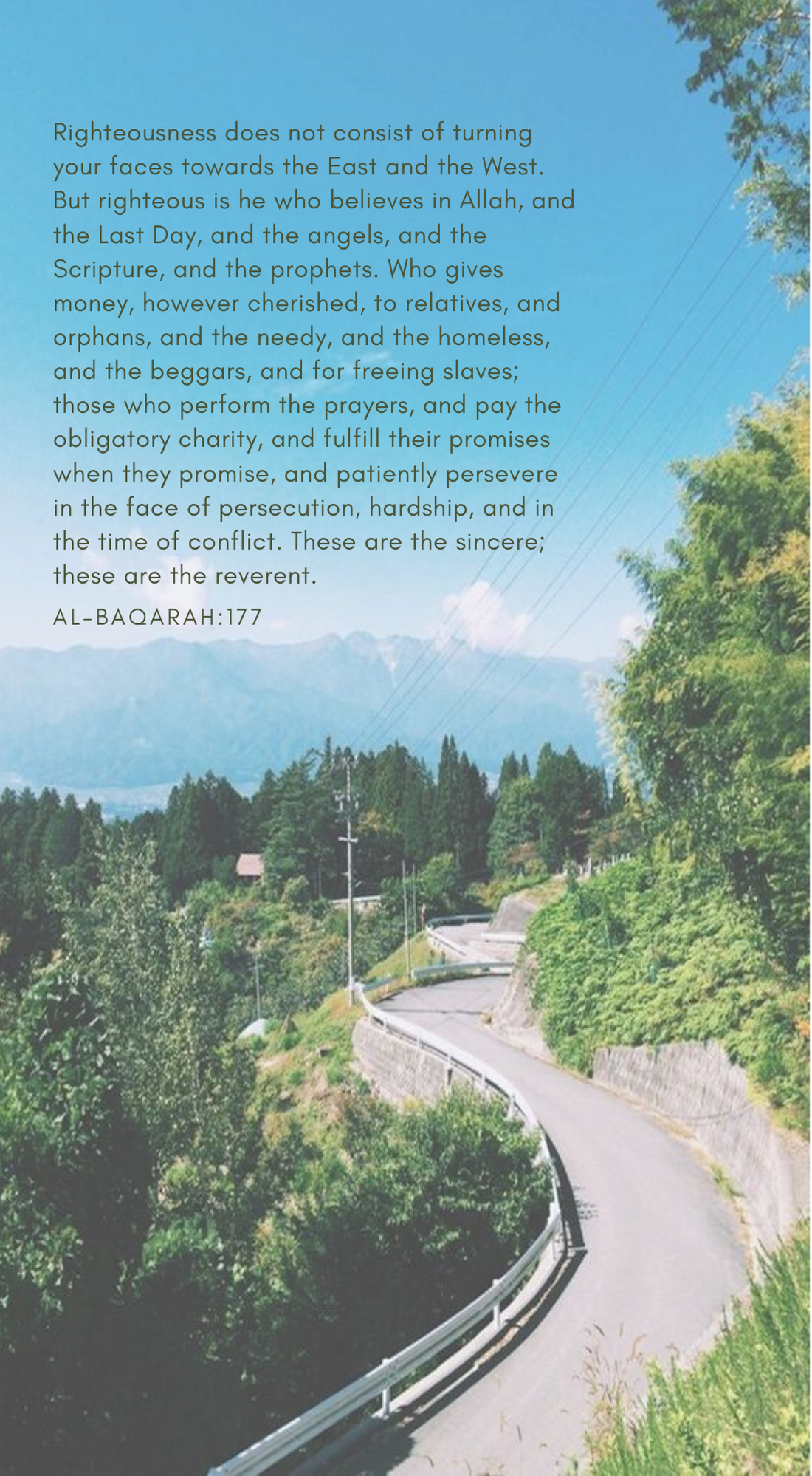 Al Baqarah 177 : baqarah, Surah, Al-Baqarah, Scripture,, Quran,, Righteousness