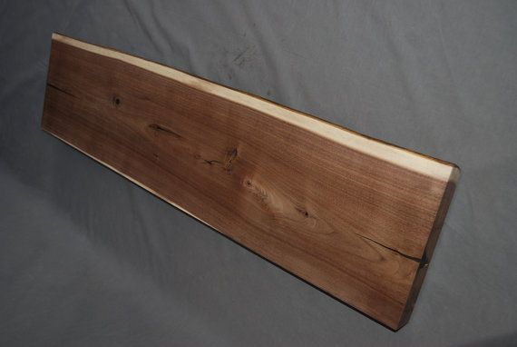 Best Made To Order Live Edge Walnut Stair Treads Stairs Steps 400 x 300