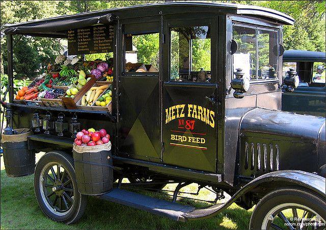 Vegetable Truck Vegetable Stand Food Vans Farm Market Ideas