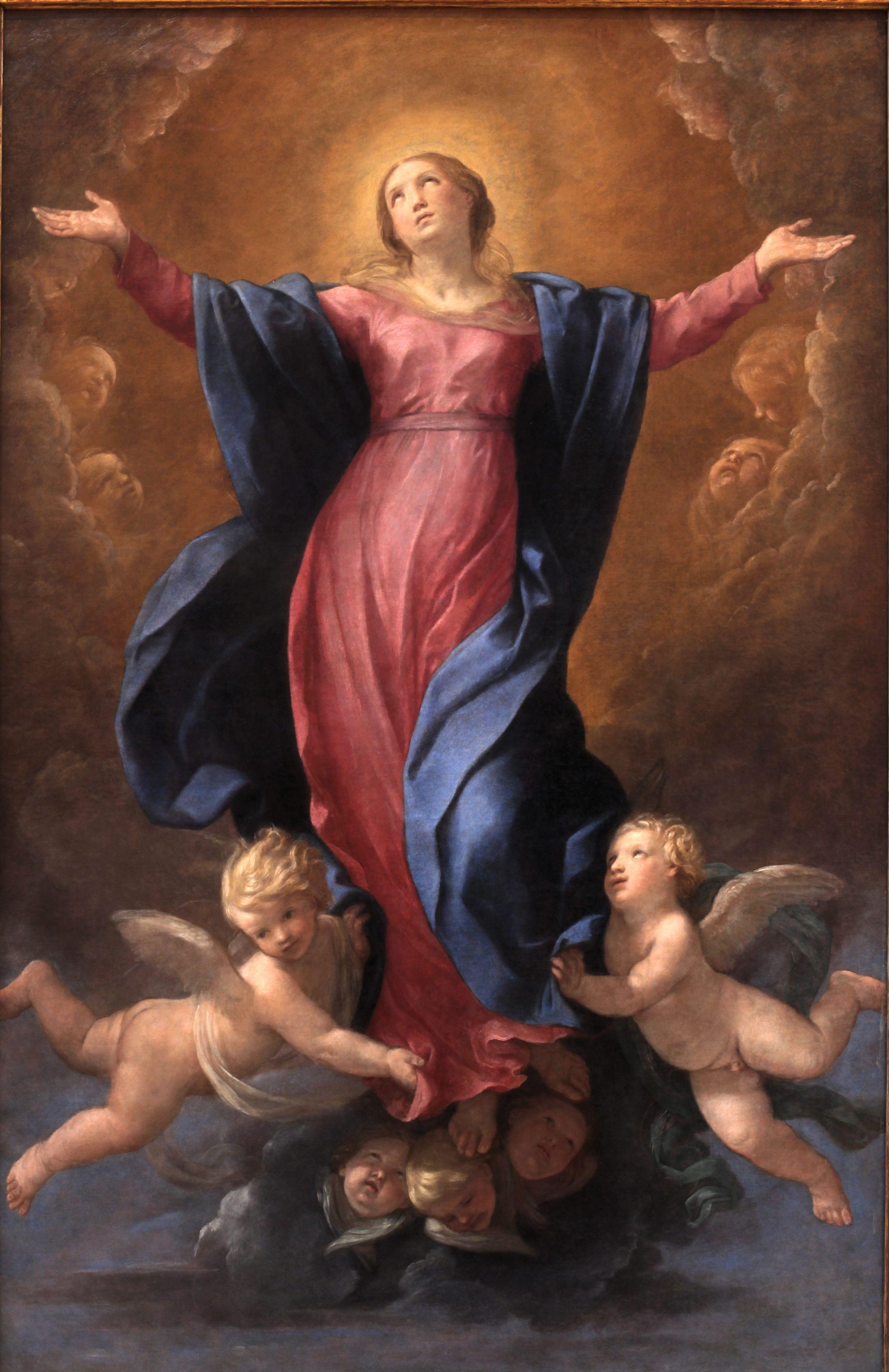 Assumption of the Virgin - Guido Reni | Guido Reni /Guercino ...