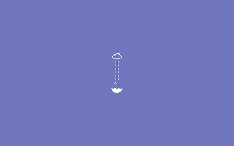 rain minimalist wallpaper dark 배경화면, 컴퓨터 배경화면, 노트북