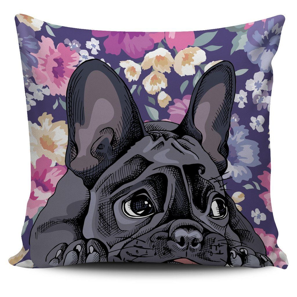French Bulldog Cutie Pillow Cover Dog themed gifts
