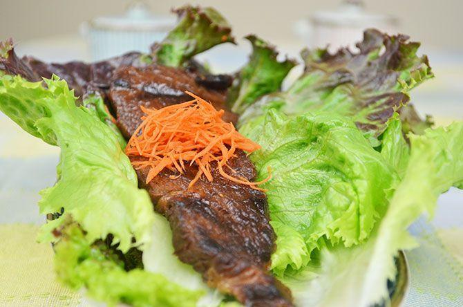 korean barbecue beef in plum wine soy marinade  recipe