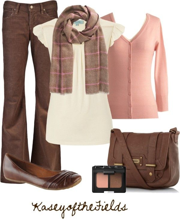 Image Result For Pink And Black Outfits Brown Pants Outfit For Work Brown Outfit Fashion