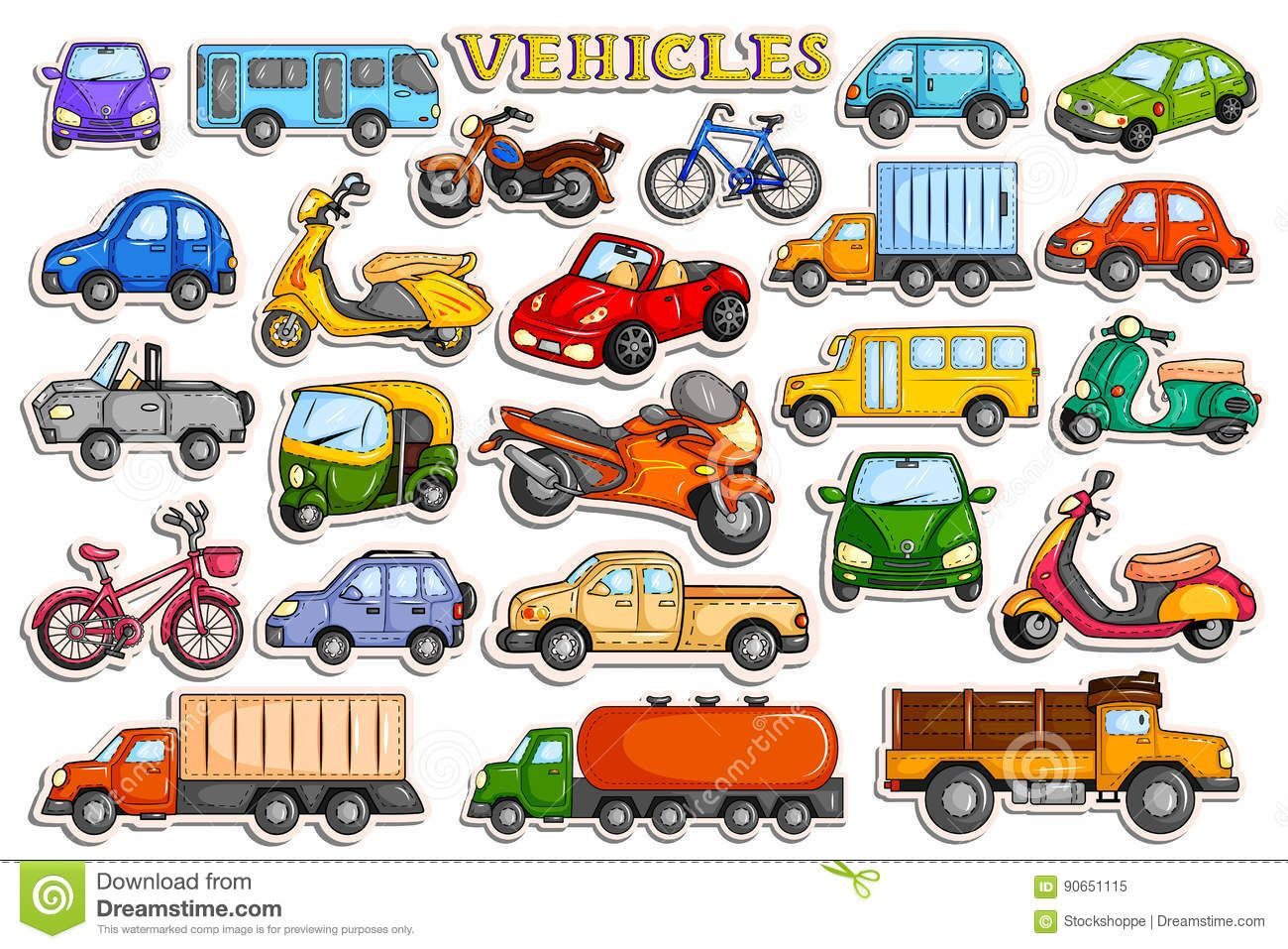 Transportation Clipart Different Transportation 39