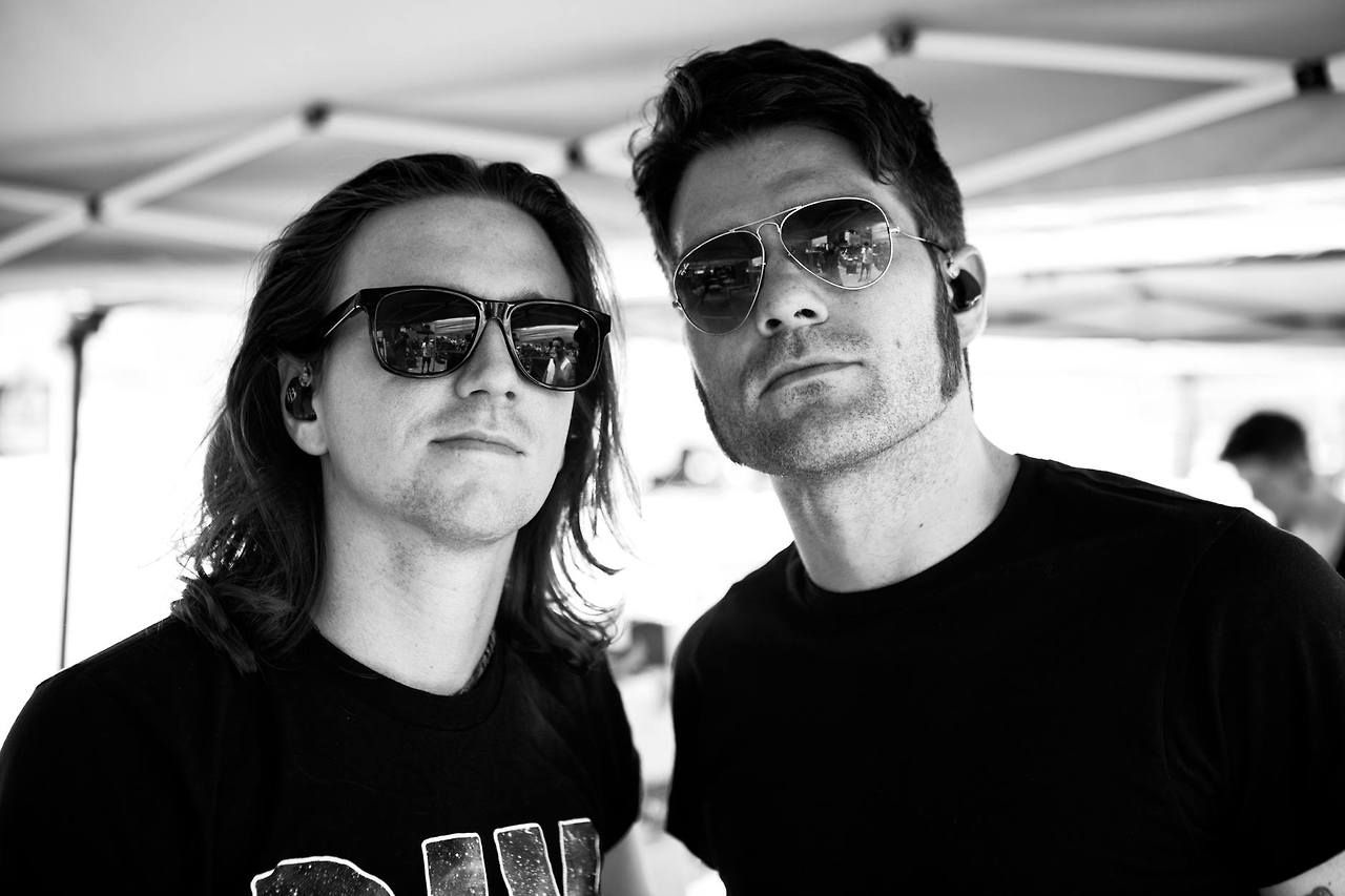 Danny Duncan and Coley O'Toole Warped Tour 2014 // Houston, TX #WeTheKings