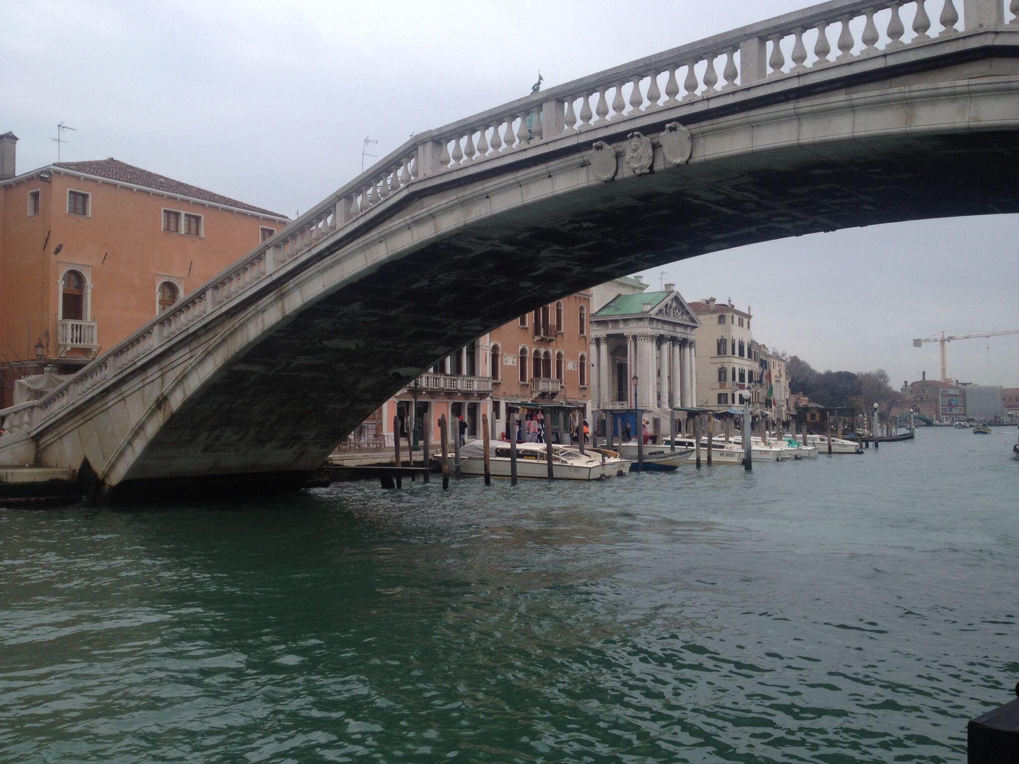 One of Venice's many bridges