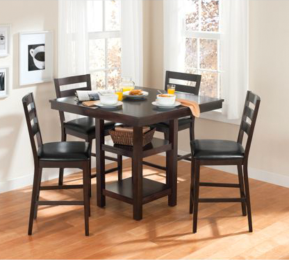 Better Homes And Gardens Dalton Park Counter 5-Piece Height Dining