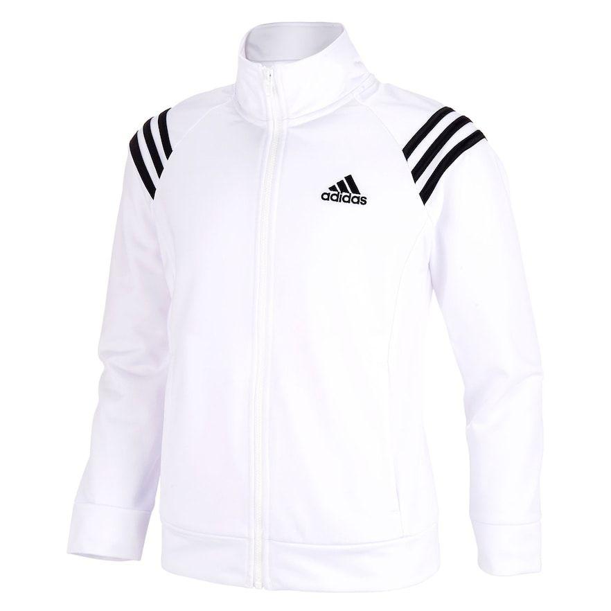 41e1de1e7 Girls 7-16 adidas Mock Neck Colorblocked Track Jacket   Products ...