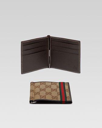 354df873dd3c Band Money Clip Wallet by Gucci at Bergdorf Goodman.   Wallet ...