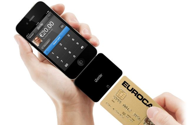 Izettle Payment System Credit Card Readers Mobile Credit Card Card Reader