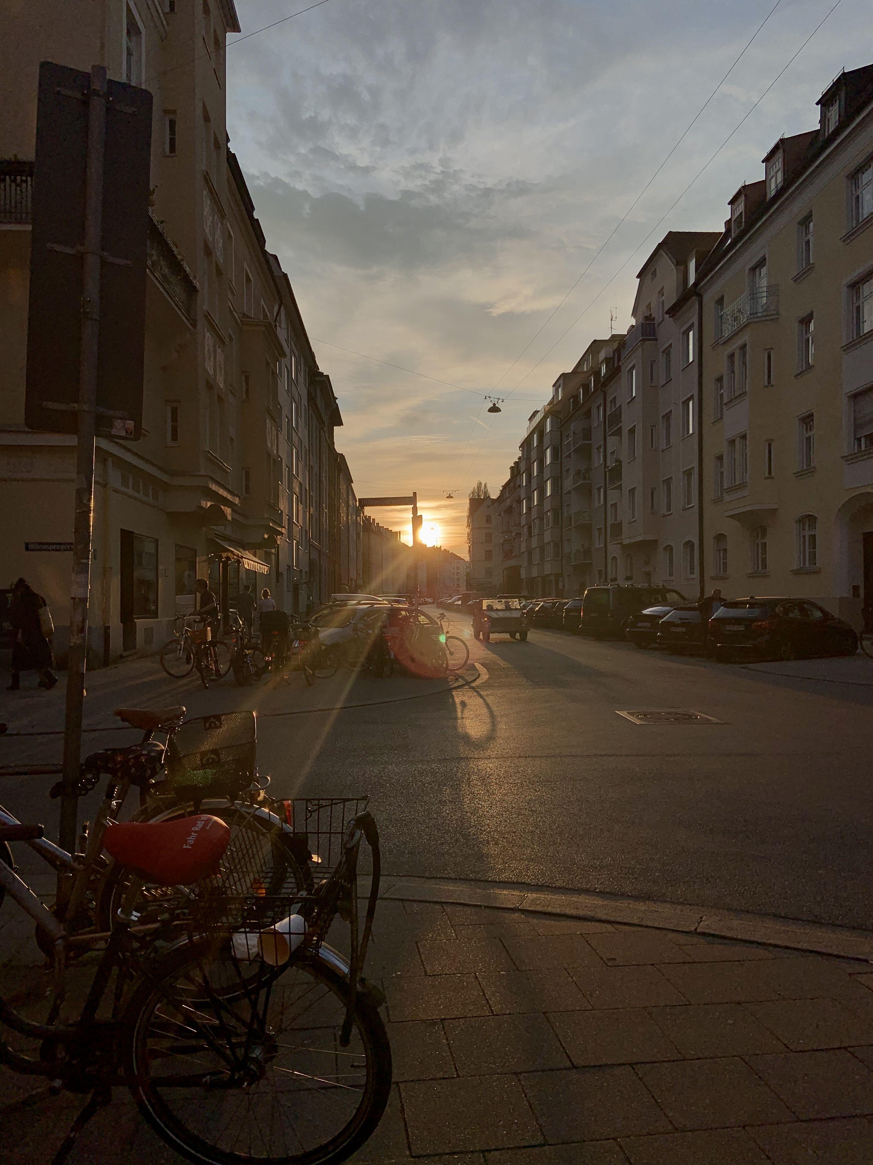 Munich Sunset Berlin Stadt Willkommen In Deutschland Munchen