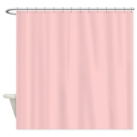 pale pink shower curtain. Solid Pale Pink Shower Curtain On CafePress Com  The Lime