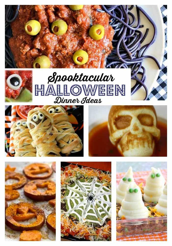 Halloween dinner ideas halloween pinterest halloween dinner halloween dinner ideas forumfinder Choice Image