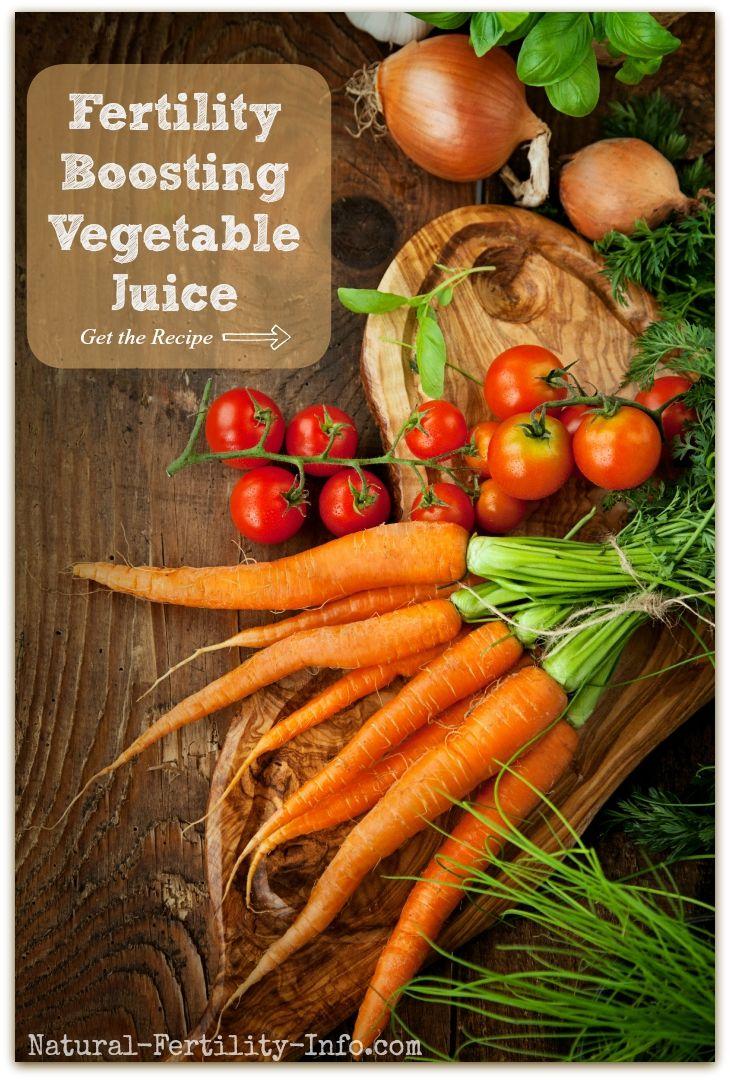 Fertility Boosting Vegetable Juice   Vegetables Vegetable ...