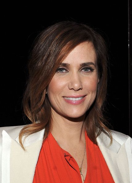 Kristen Wiig Medium Layered Cut