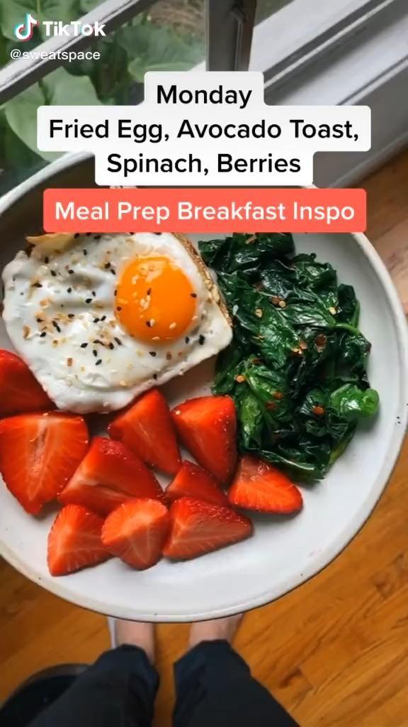 Healthy Food Meal Plan For The Week Food Tiktok Video Healthy Snacks Recipes Healthy Snacks Healthy Snacks Easy