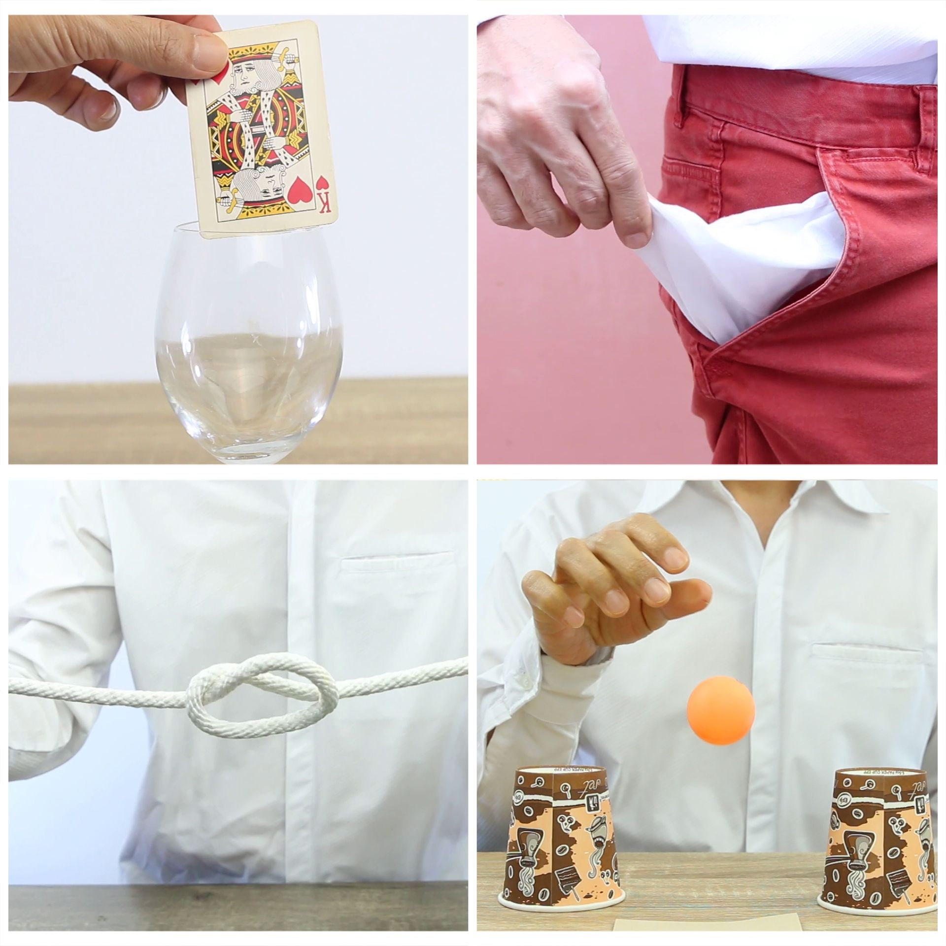 Here are five easy magic tricks that your can use to astound friends and family They are extremely easy to learn. Hope you enjoy.