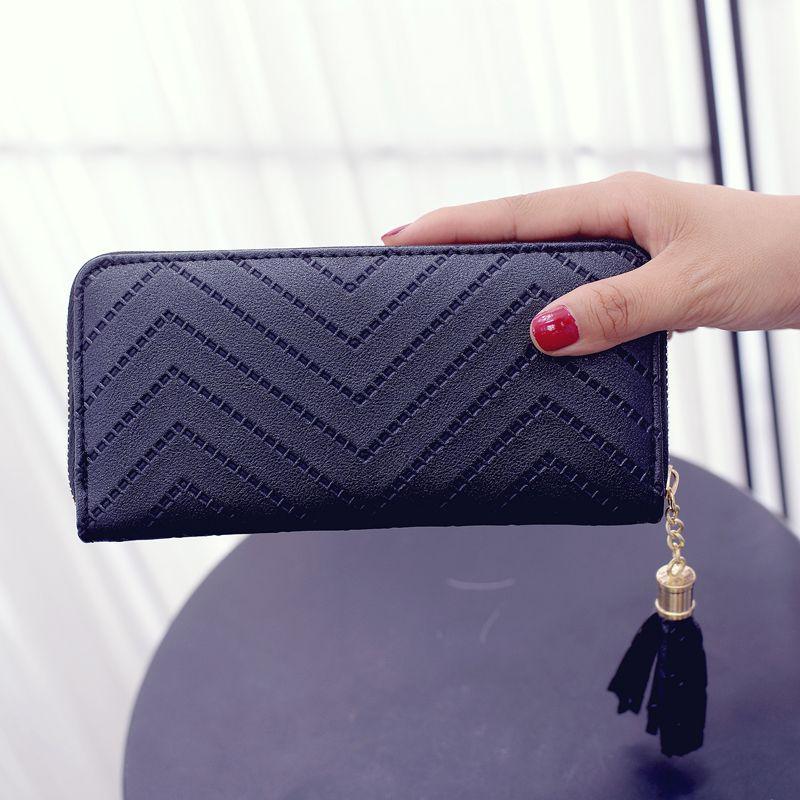 2016 PU 가죽 지갑 여성 지갑 실용적인 큰 용량 여성 지갑 홀더 카드 portefeuille 팜므 여자 지갑과 지갑