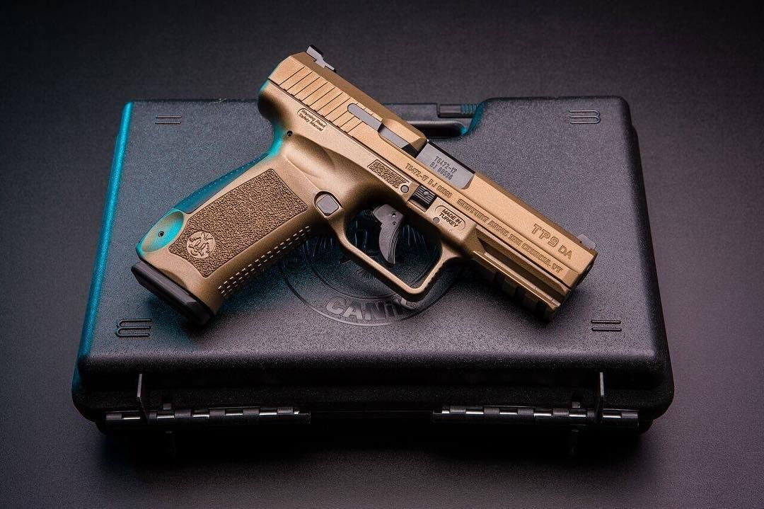 Bronze is the new black ・・・ #canik #canikusa #tp9 #tp9sf