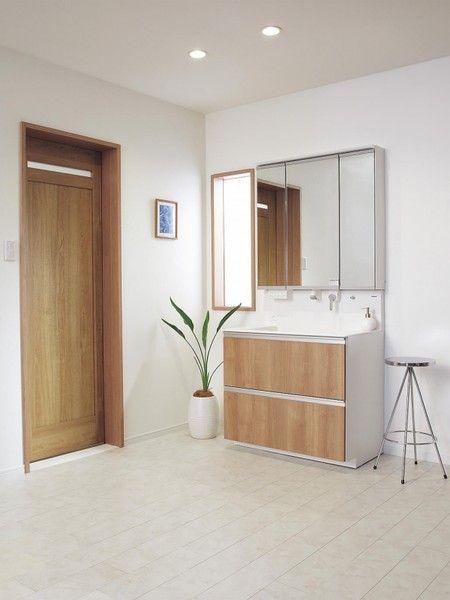 洗面室の床材の種類と特徴 選び方のポイント 洗面所 床材 床