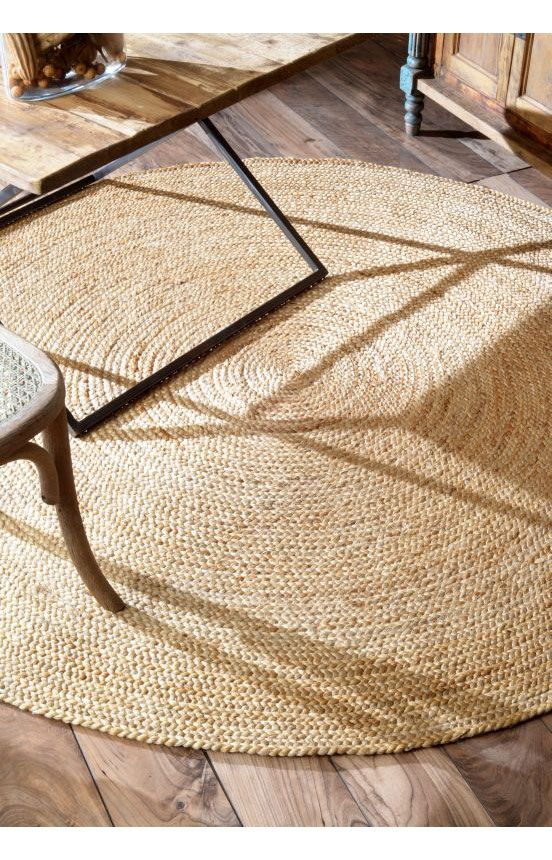 Rugs Usa Maui Jute Braided Natural Rug Labor Day Up To 80