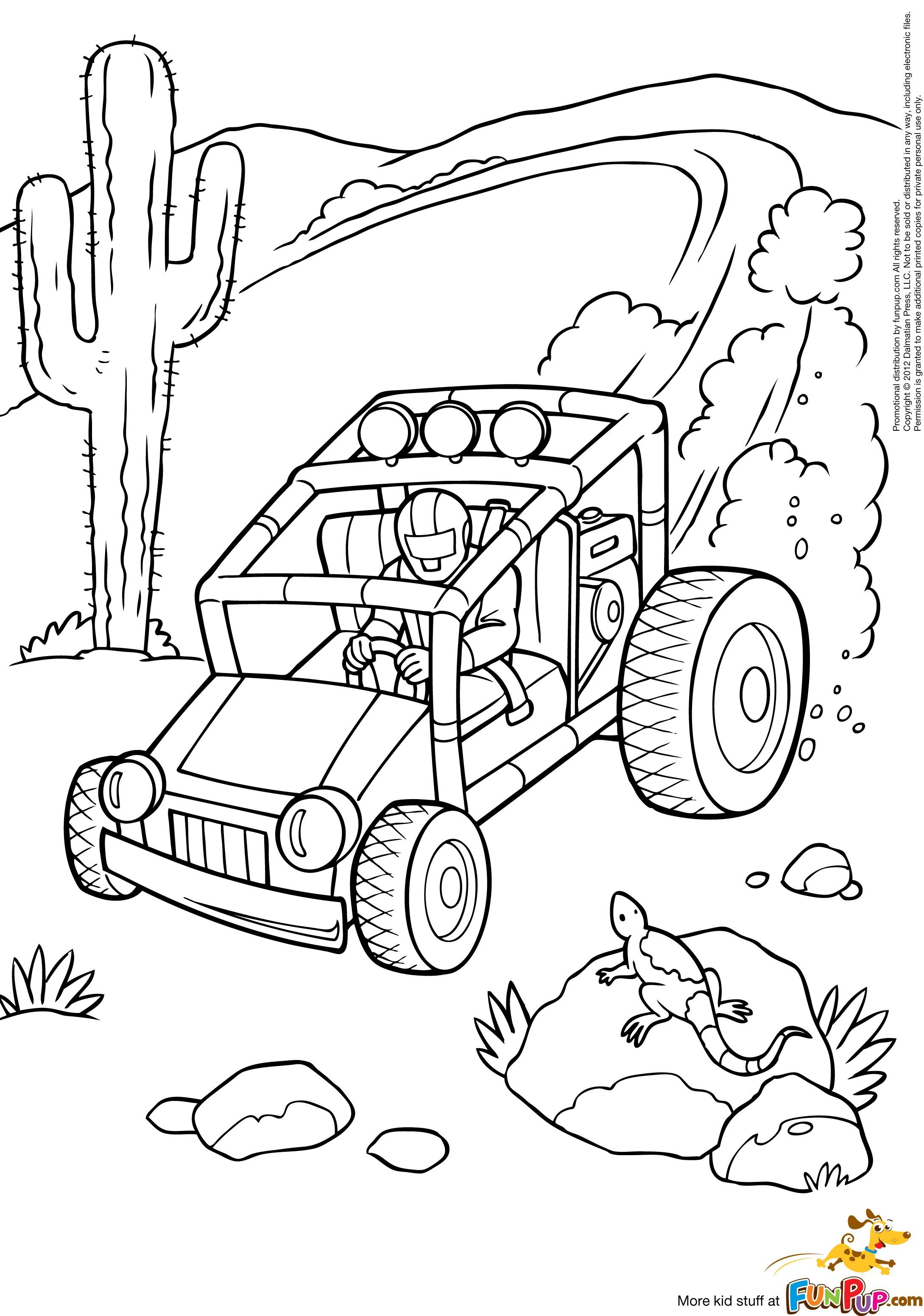 Buggy Coloring Dune Pages 2020 Cars Coloring Pages Dune