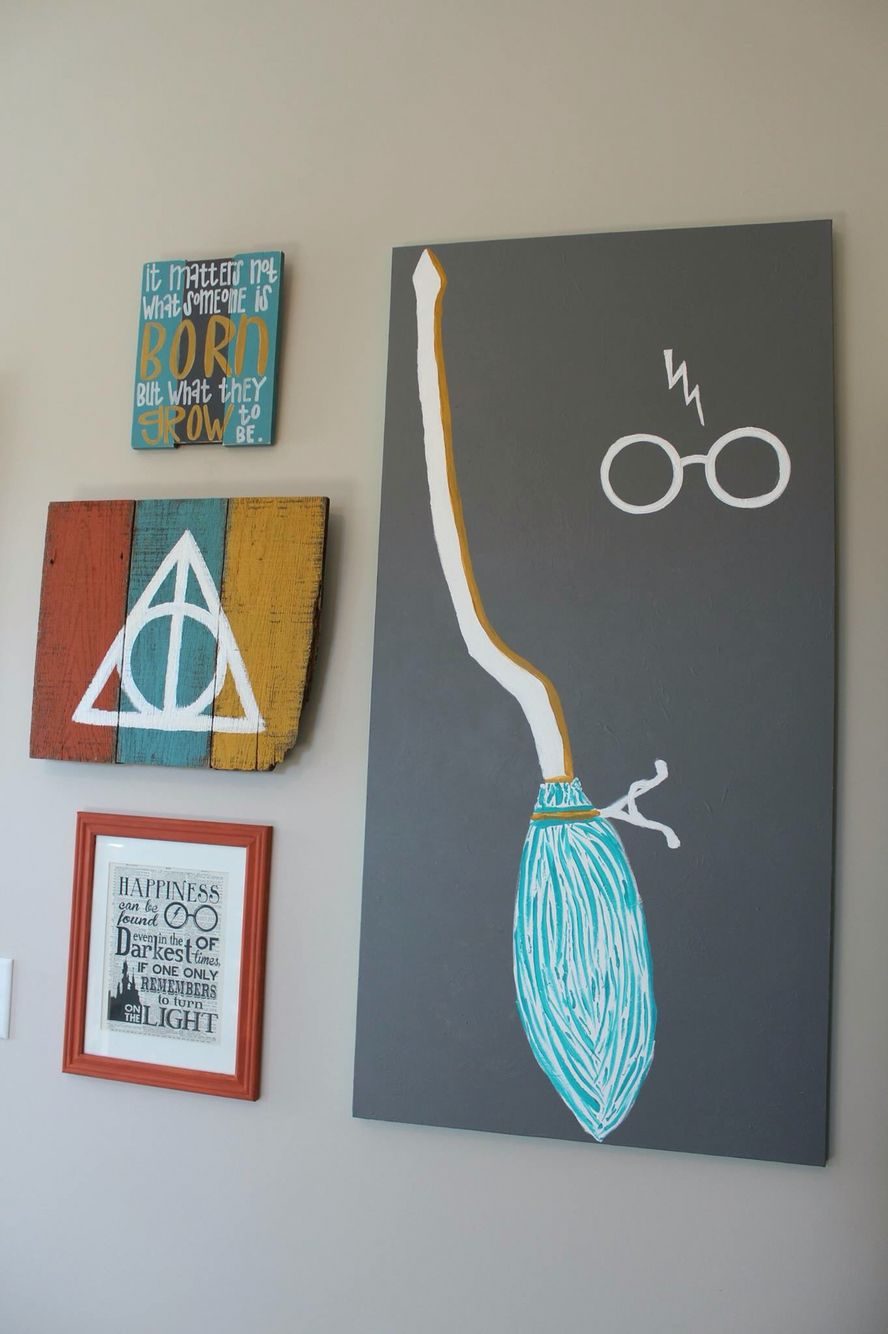 Harry potter nursery pinteres for Room decor harry potter