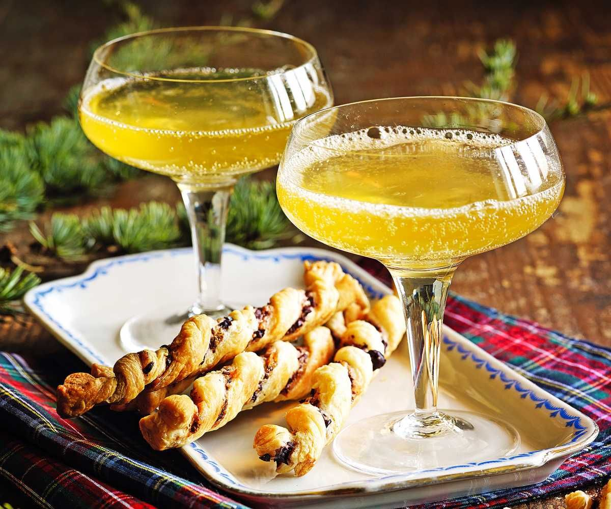clementinen moscato weihnachten rezept apero drink. Black Bedroom Furniture Sets. Home Design Ideas