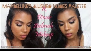 maybelline nude palette - YouTube