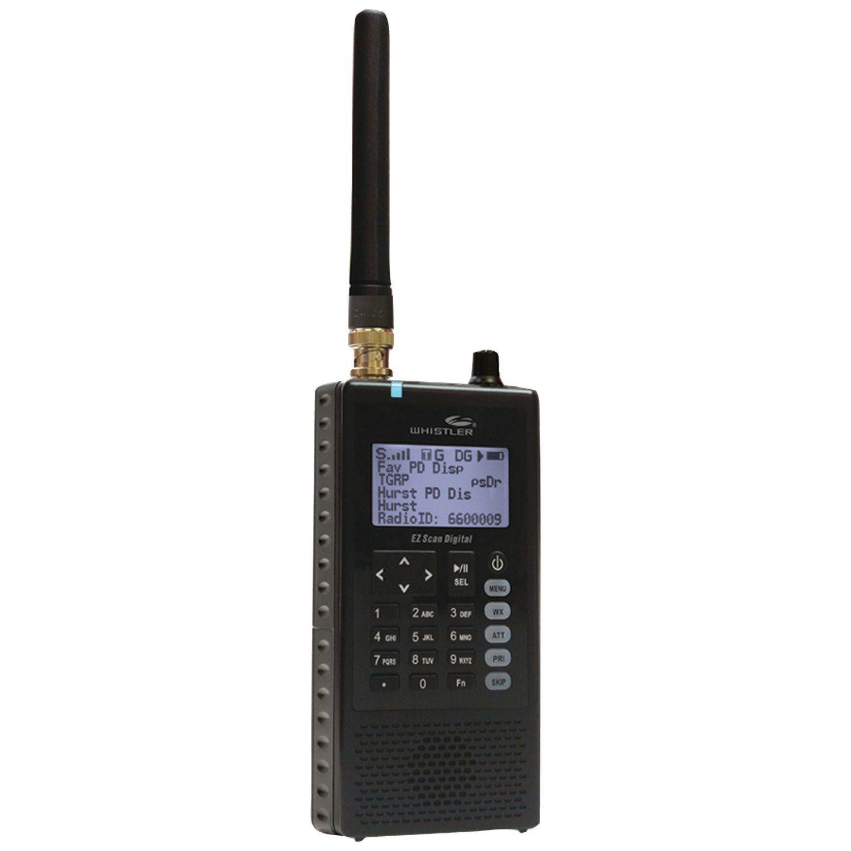 Whistler WS1088 Handheld Digital Scanner Radio Digital