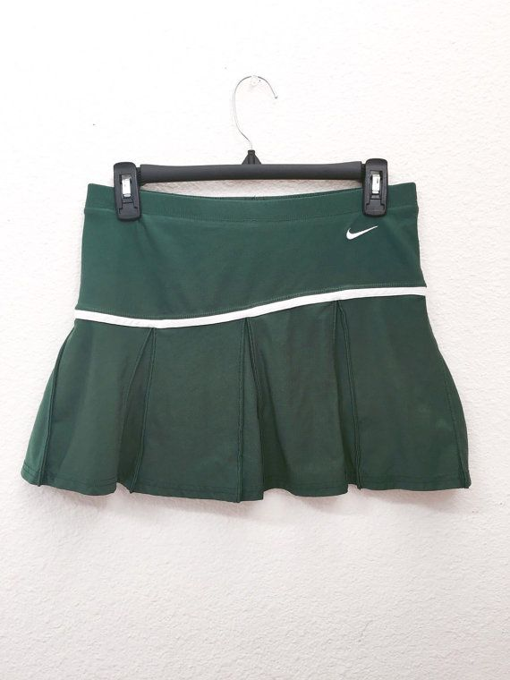 Nike Pleated Tennis Skirt In Forest Green Pleated Tennis Skirt Tennis Skirt Vintage Outfits