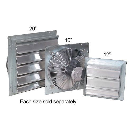 Commercial Shutter Fan Greenhouse Cooling Commercial Shutters Shutters Aluminum Shutters