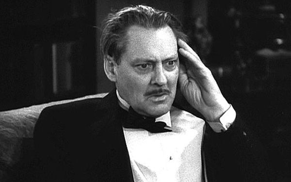 "4th Academy Awards - November 10, 1931. Lionel Barrymore (1878-1954), winner of the Academy Award for Best Actor for ""A Free Soul"""