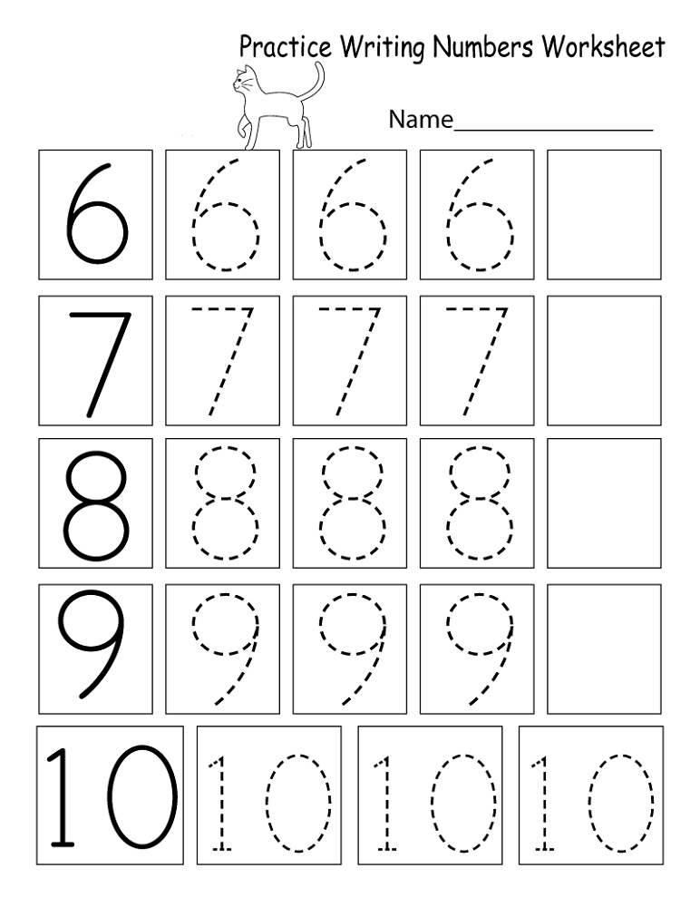 Practice Sheets For Toddlers Worksheet Math practice