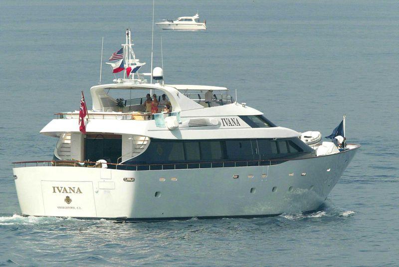 Ivana Trump Yacht Jet Set Life Ivana Trump Yacht
